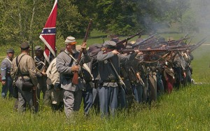 Reenactors at Chancellorsville