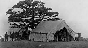 Sutlers tent